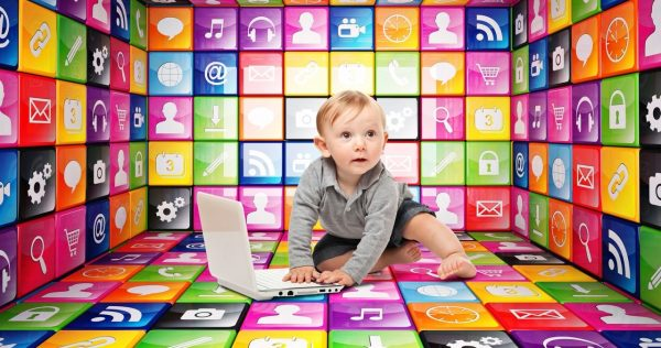 14 Baby with Tablet apps